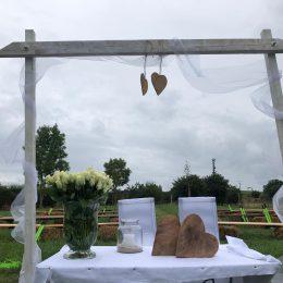 Heute wird wieder geheiratet in Wildewiese!💍