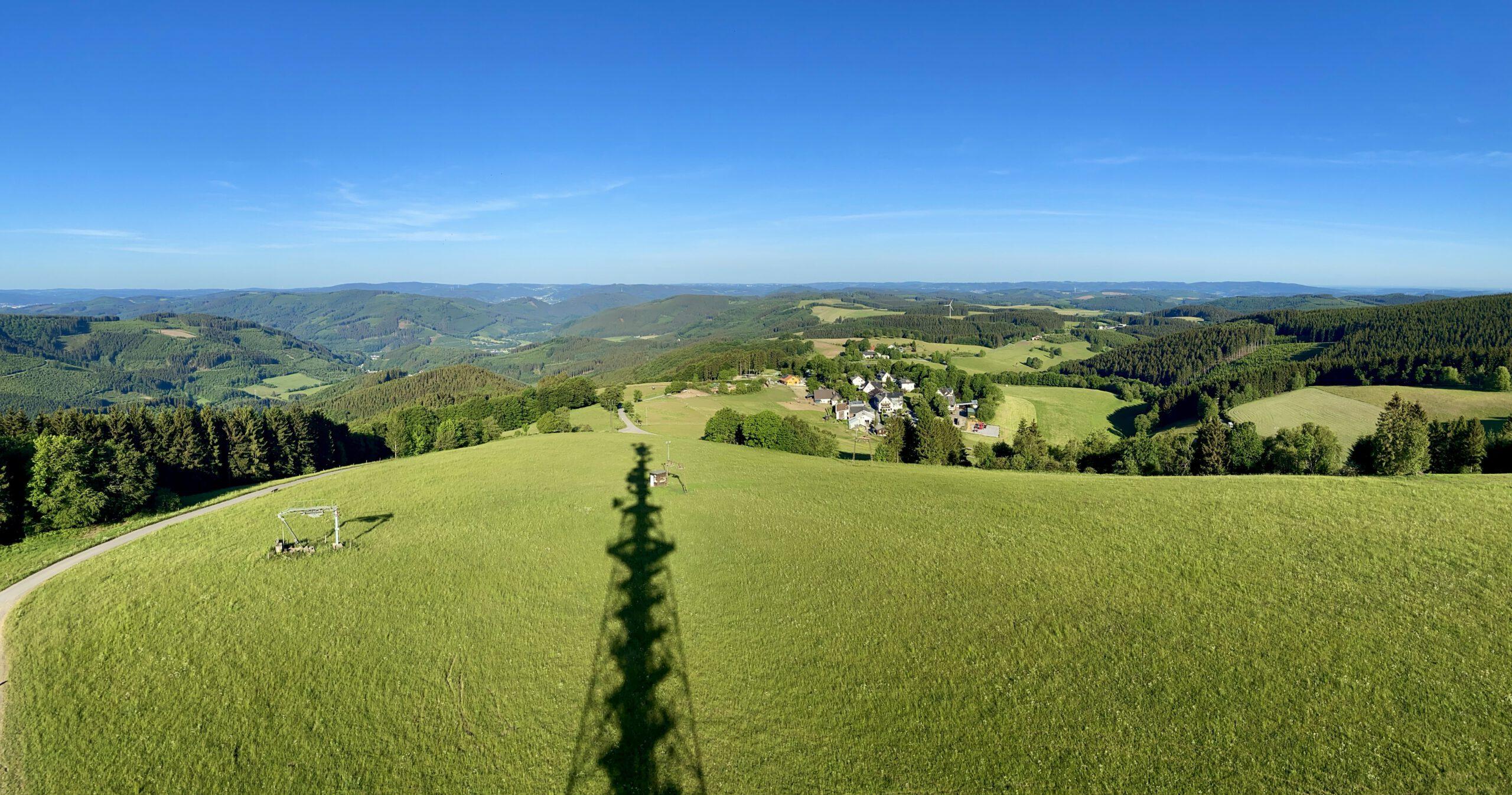 Blick vom Schomberg Turm