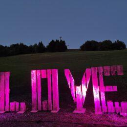 LOVE auf der Steinbergs ALM